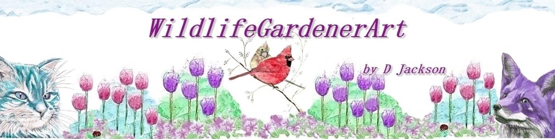 Wildlife Gardener Art Banner