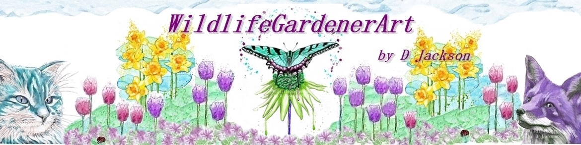 Wildlife Gardener Art Banner