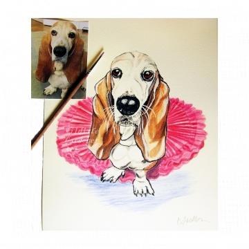 Recent Custom Pet Portraits
