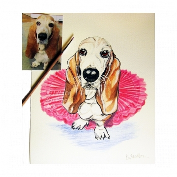 Recent Custom Pet Portraits